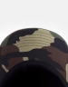 CSBL 9664 Curved Cap woodland camo/white one
