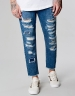 ALLDD Raw Edge Denim Pants