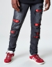 ALLDD Flanneled Denim Pants vintage black 3232