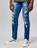ALLDD Paneled Denim Pants sand washed 3030