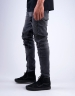 ALLDD Broken Biker Ian Denim Pants vintage black 3030
