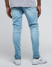 ALLDD Paneled Inverted Biker Ian Denim Pants light blue 3032