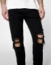 ALLDD Heavy Cut Sid Denim Pants black 3632