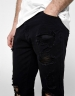 ALLDD Heavy Cut Sid Denim Pants black 3032