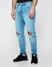 ALLDD Unchained Tim Denim Pants light blue 3632