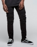 ALLDD Inverted Biker Ian Denim Pants black 2830