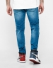 ALLDD Inverted Biker Ian Denim Pants mid blue 3632