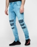 ALLDD Inverted Biker Ian Denim Pants light blue 3432