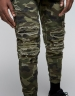 ALLDD Paneled Inverted Biker Jogger Pants woodland camo XXL