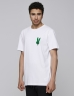 C&S Peace Tee white/mc XS