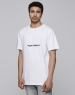 C&S Spray Here Tee white/black L