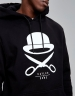 C&S WL Logo Hoody black/white M