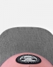 C&S CL Holidays Cap mauve/heather grey one