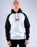 CSBL Nine Zero Hoody white/black XXL