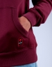 CSBL Patched Hoody bordeaux/mc S