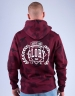 CSBL Justice N Glory Hoody bordeaux camo/white M
