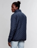 CSBL Worldwide Classic Half Zip Jacket deep navy/white L