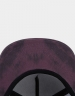 CSBL Blackletter Cap maroon tiedye/black one size