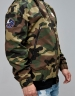 CSBL Patched Loose Flight Jacket woodland camo/orange M