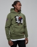CSBL Patched Hoody olive/white M