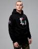 CSBL Patched Hoody black/white L