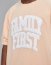 CSBL Priority Long Tee light peach/white XL