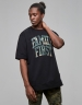 CSBL Priority Long Tee black/woodland camo S