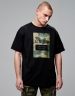 CSBL ED.02 Oversized Tee black/woodland camo XL