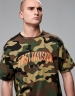 CSBL Patched Oversized Tee woodland camo/orange M