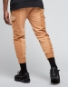 CSBL Two Face Cropped Cargo Sweatpants camel XXL