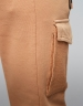 CSBL Two Face Cropped Cargo Sweatpants camel XS
