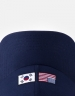 CSBL 9664 Curved Cap navy/white one