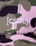 CSBL Brackets Curved Cap woodrose camo/white one