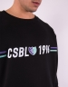 CSBL Insignia Semi Box Crewneck black/purple M