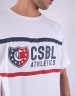 CSBL Insignia Oversized Tee white/red S