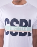 CSBL First Team Tee white/pale mint XS