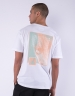 CSBL Barrel Roll Semi Box Tee white/pale mint L