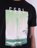 CSBL Heaven Can Wait Tee black/pale mint XL