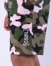 CSBL Brackets Sweat Shorts woodrose camo/white XXL