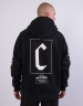 CSBL Framed Box Raglan Hoody black/white XL