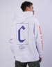 CSBL Framed Box Raglan Hoody white/orange XXL