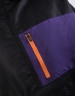 CSBL RTN Box Half Zip Windbreaker black/purple XS