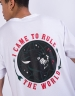 C&S WL Rule The World Tee white/mc M