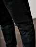 C&S Biker Denim Pants black 3030
