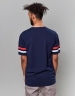 C&S WL Low Polo Tee navy L