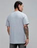 C&S PA Small Icon Tee grey heather/white XS