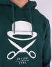 C&S PA Icon Hoody ocean green/white L