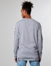 C&S WL Purple Swag Longsleeve grey heather M
