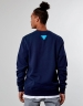 C&S WL Pret A Smoke Crewneck navy L