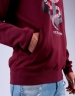 C&S WL Anchored Hoody bordeaux/mc L